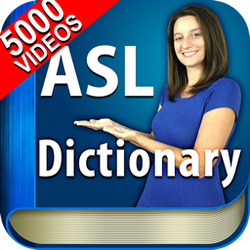 icon for ASL Dictionary HD American Sign Language